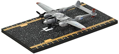 Hot Wings P-38 Lightning with Connectible Runway Die Cast ()