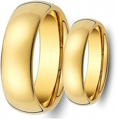 Tungsten Ring Set goldishset1 product image 6