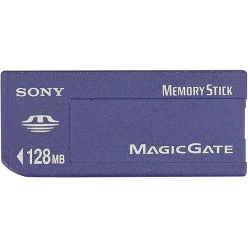 Sony 128 MB Memory Stick Media (MSH-128) (Retail Package) ()