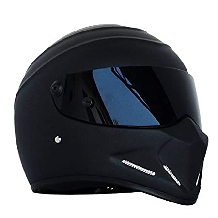Amazon.es: Casco de moto, casco Alien, casco integral, con visera, para Offroad, carreras y Motocross, para Honda, Yamaha, Suzuki, Kawasaki, Bandit, Helm, ...