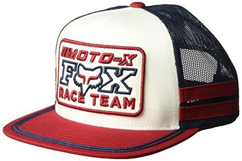 Hat Adjustable Fox - Fox Men's INTERCEPT Snapback HAT, Cardinal, OS