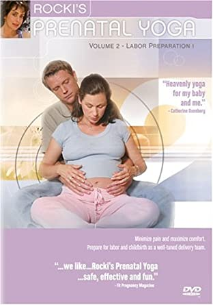 Amazon.com: Rockis Prenatal Yoga, Vol. 2: Labor Preparation ...