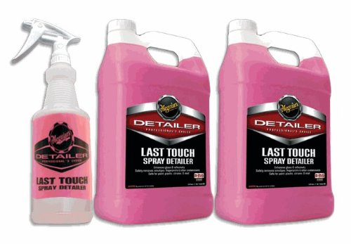 Meguiars D155 Last Touch Spray Detailer Combo Pack (Meguiars Spray Car Wax compare prices)