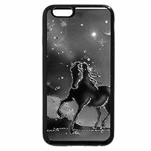 iPhone 6S Plus Case, iPhone 6 Plus Case (Black & White) - Golden Horse
