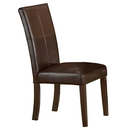 Delicieux Hillsdale Monaco Side Parson Chair, Matte Espresso, Set Of 2