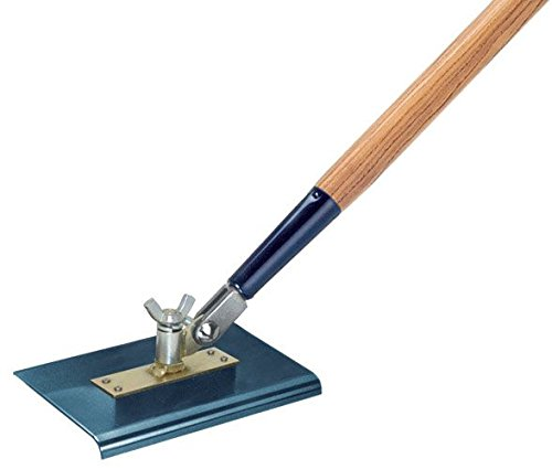 Kraft Tool CC395A-01 9-Inch by 6-Inch All-Angle Steel Walking Edger without Handle by Kraft Tool