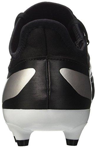adidas X 17.2 Fg, Botas de Fútbol para Mujer Negro (Core Black/platin Metallic/core Red)