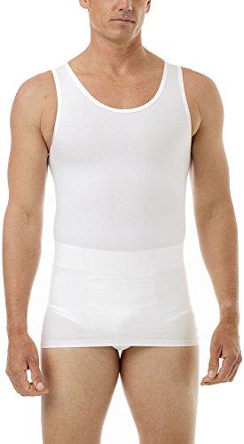 Manshape® MagiCotton Gynecomastia Chest and Tummy Compression Tank White Medium