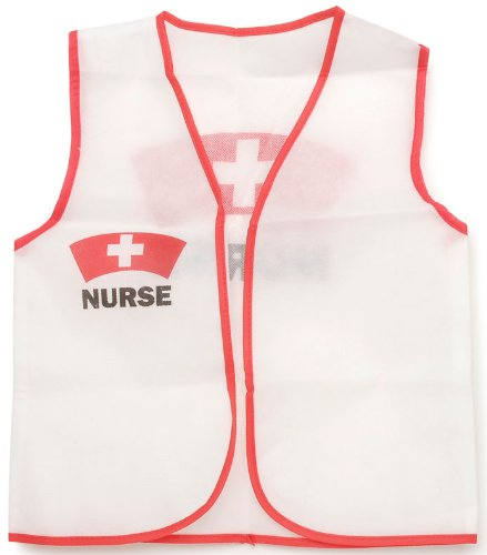 Darice Dress Up Vest - Nurse - 16 x 20 inches (Nurse Costume For Kids)