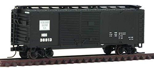 0ft Double Door Boxcar Hoboken Shore 38913 – N Scale (40' Double Door Box Car)