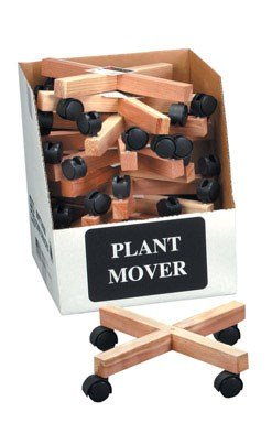 Wooden Plant Caddy