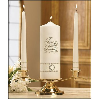 Become One Unity Shall Candle (Two Shall Become One - Wedding Unity Candle)