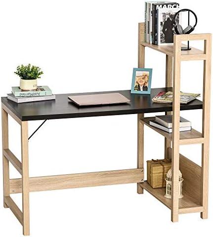 HOMCOM Rectangle Computer Desk