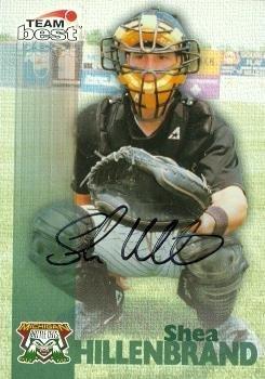 Shea Hillenbrand autographed Baseball Card (Minor League) 1999 Team Best - Autographed Baseball Cards (Shea Autographed Baseball)