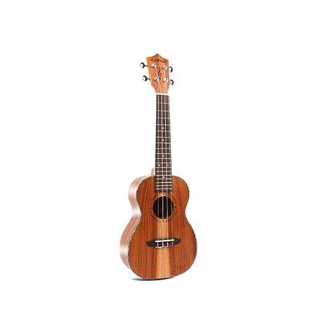 Miiliedy Minimalismo Ukulele clásico 23 pulgadas Principiante Niño Adulto Práctica Hawaiana Guitarra pequeña de cuatro cuerdas