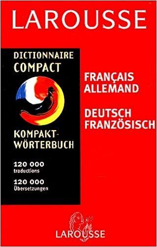 Livres Dictionnaire compact : français-allemand pdf, epub ebook