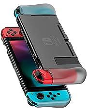 UGREEN Cover Nintendo Switch Custodia Protettiva in TPU Case Anti-Graffio con Assorbimento Degli Urti Compatibile con Dock Leggero per L'Inserimento nella Base per Console e JoyCons- Trasparente