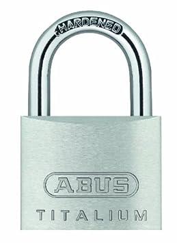 Grau ABUS AB64TI//30HB60 Vorh/ängeschloss