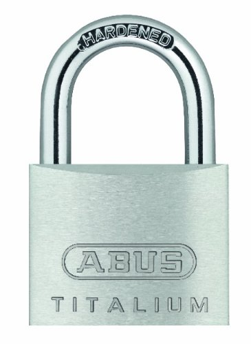 ABUS 64TI/20 20mm Carded Titalium Padlock (Pack of 2) AB64TI/20 TWINS