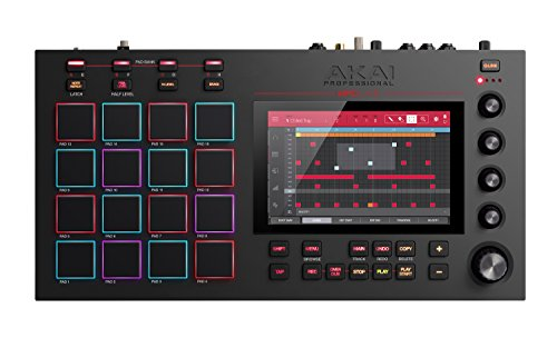 Akai Professional MPC Live | Ultra-Portable Fully Standalone MPC With 7-Inch Multi-Touch Display, 16GB On-Board Storage, Rechargeable Battery, Full Control Arsenal and 10GB Sound Library Included