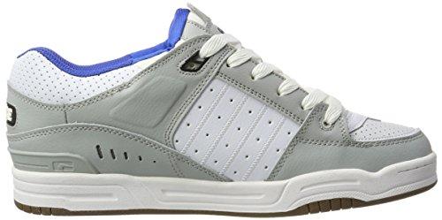 Blanc Chaussures Globe Skateboard Hommes Pour Fusion Multicolore Bleu De gris vwAzP