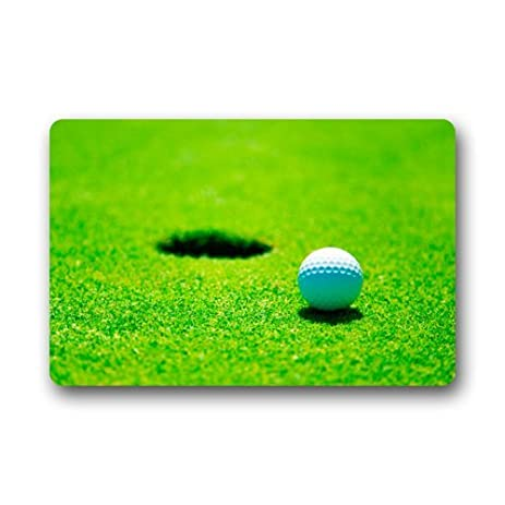 Golf Ball And Hole Golf Sport Doormats Floor Mat Door Mat Rug  Indoor/Outdoor Mats
