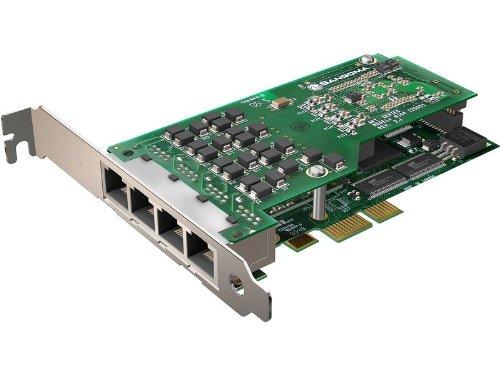 Sangoma A104E QuadT1/E1 AFT Interface Card - Asterisk Interoperable with PCI ...