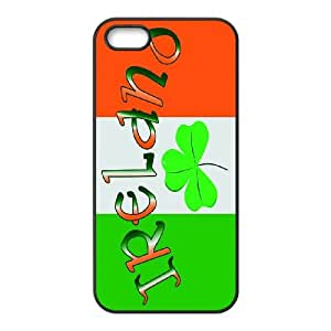 High Quality {YUXUAN-LARA CASE}Cetic Clover - Lucky Clovers For Apple Iphone 5 5S STYLE-3