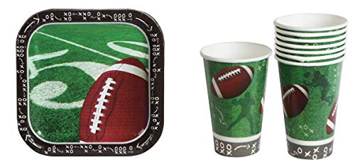 (14) Kids Football Plates & Cups. Football Birthday Supplies. Boys Football Cups. Children Sports Birthday Party Theme. Football Paper Plates & Cups Decorations ()
