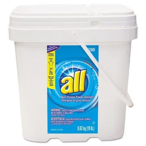 All 5729888 l-Purpose Powder Detergent, 19 lb. Tub