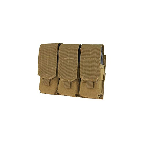Condor Triple Magazine Pouch MOLLE Coyote Brown (Military Magazine Officer)