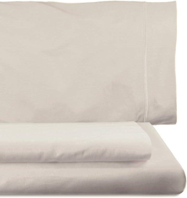 federe Colore Platino Set Copripiumino Home Royal 45 x 155 cm 220 x 260 cm sotto 135 x 200 cm Composto da Sacco