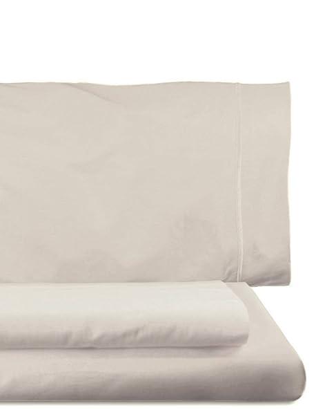Lasa Royal - Juego de funda nórdica, 240 x 220 cm, bajera ajustable, 158 x 200 cm, 2 fundas para almohada, 45 x 85 cm, color platino