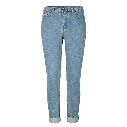 Straight Fit High Waisted Boyfriend Jeans for Women 4