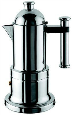 (Vev Vigano 8194 Kontessa Inox 4-cup Coffee Pot)