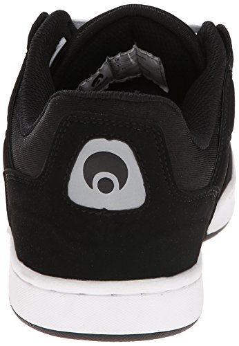 Osiris Men's Protocol XPD Skate Shoe, Nero/bianco, 6 M US