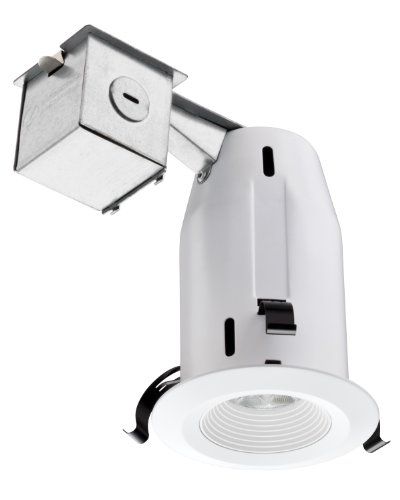 Lithonia Recessed Lighting Spacing: Lithonia Lighting LK3BMW LED M4 3 Inch Baffle Kit With