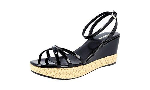 Femmes Prada 1 X 9561 Chaussures En Cuir