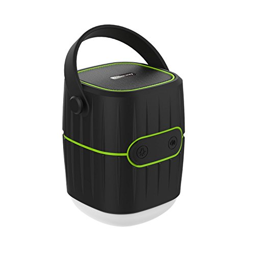 Outdoor Wireless Speaker, Superway 8800mah Rechargeable Portable LED light lamp camping lantern with External Battery PowerBank Phone Charger, Waterproof for Hiking, Backpacking, Fishing and more