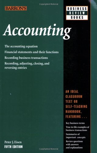 Accounting (Barron's Business Review Series) -