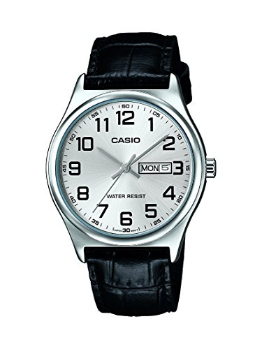 Casio MTP V003L 7B Standard Analog Leather