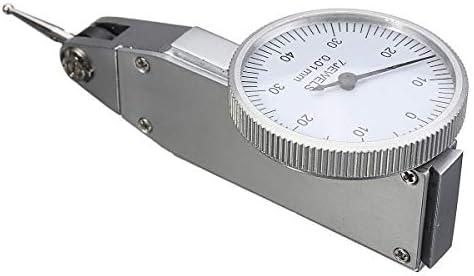 Queenwind 0-0.8 0.01 精密レバーダイヤルテストインジケーターゲージポータブルスケールメータツール
