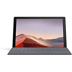 Microsoft Surface Pro 7 12 inch Touch-Screen – Intel Core i7 – 16GB Memory – 256GB SSD (Latest Model) – Matte Black (VNX-00016)