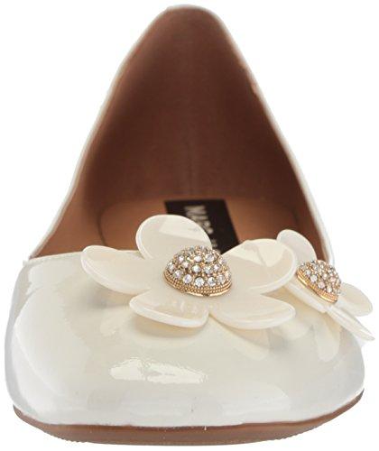 Marc Jacobs Kvinners Daisy Ballerina Ballett Flat White