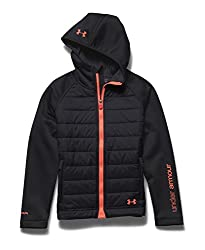 Under Armour Outerwear Girls' CGI Werewolf Jacket, Youth Large, Europa Purple