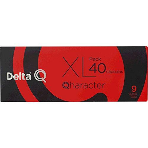 Pack Xl 40 Café Tostado Molido Cápsulas Qharacter Delta Q 40 X 5.5 ...