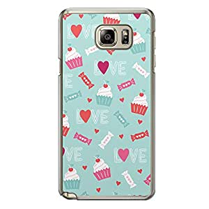 Loud Universe Samsung Galaxy Note 5 Love Valentine Printing Files A Valentine 42 Printed Transparent Edge Case - Multi Color