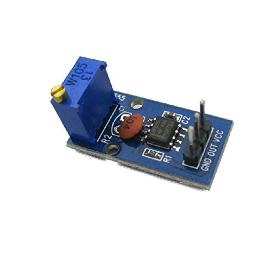 Quickbuying 10PCS NE555 Adjustable Frequency Pulse Generator Module for Arduino Smart Car