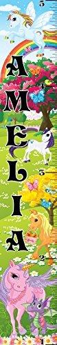 Mona B077Z4J194 Melisa Sticker Designs Customized Pony Amelia Growth Chart Decorative Chart Wall Sticker [並行輸入品] B077Z4J194, イカリガセキムラ:63ceed46 --- ijpba.info