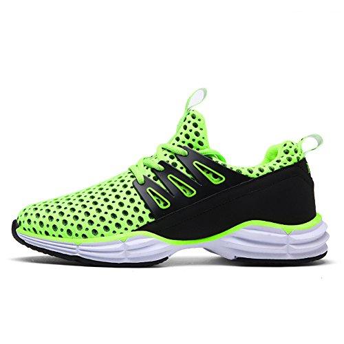 Yiruiya Heren Casual Atletische Veterschoen Met Sneakers Schoenen Fluorescerend